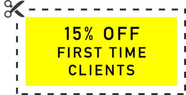 15% off first time clients. Coupon is NOT valid for move in's, out's or deep cleanings.